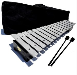 15-Tone Xylophone Aluminum Plate Piano Metal Percussion Instrument