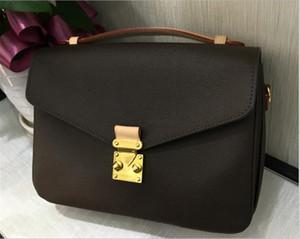 패션 여성 크로스 바디 디자이너 핸드백 브랜드 정품 가죽 가방 디자이너 꽃 편지 격자 무늬 여성의 핸드백