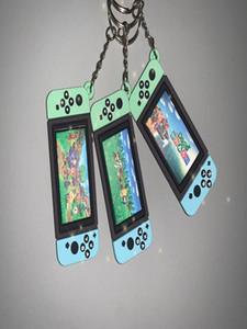 Switch Charm Crossing Nostalgic Toy Fashion Soft Simulation Game I6 Keychain Car Keyring Bag Man Gift Rubber Pendant Childrens fles_tsetboM