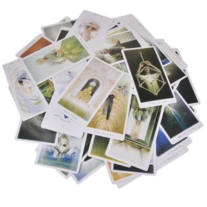 Para 79pcs Family Game cartão de Tarot Partido Board Cartões E Guia Inglês Fountain Ilustração O Guides txUuF lucky2005