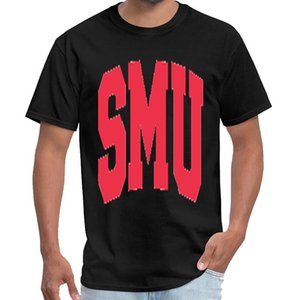 Divertido SMU Mustangs simpsons t camisas hombres slipknot camiseta 3XL 4XL 5XL primer golpe