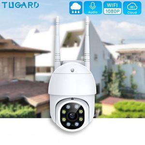 1080P PTZ Wireless IP Camera Outdoor Speed Dome Waterproof surveillance cameras with memory card WiFi Security CCTV Camera