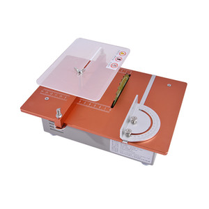 New Arrival Multifunctional Miniature Table Saw Desktop Cutter Mini Table Saw 12v-24v 4-10A 5000-10000 r min 31-34mm Hot Sale