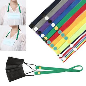 Face Mask Lanyard Anti-loss Straps Extensible Mask Rest Ear Holder Rope Mask Protection Lanyard Buckle IIA670