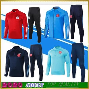 Adulto 2020 Ajax futebol jaqueta de terno treinamento 20 21 ZIYECH TADIC futebol treino camisa jaqueta polo HUNTELAAR Dolberg SCHONE