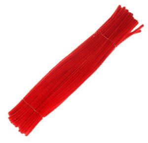 Tubo 12 Stem Red criativa Chenille Mm Inch Cleaners Hastes 500 6 X Artes Unidade Craft Chenille CYZis best_dhseller