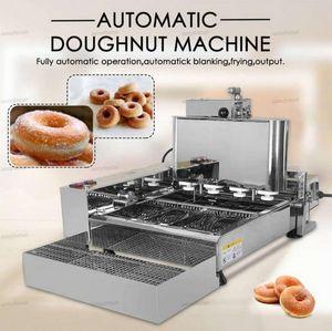2000 W Ticari Çörek Makineleri Küçük 4 Satırlar Mini Çörek Elektrikli Kızartma Mini Çörek Otomatik Üretim Çörek Yapma Makineleri