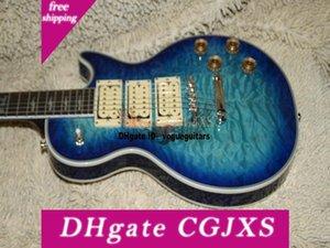 Özel Mağaza Ace Frehley Elektro Gitar In Bule Çin'den İyi Oem Guitar Burst