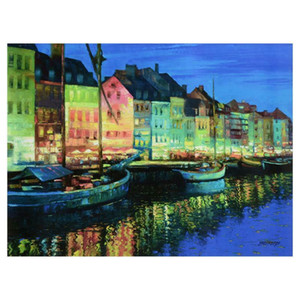 Behrens Canvas Art Copenhagen Home Decor Handpainted &HD Print Oil Painting On Canvas Wall Art Canvas Pictures 200924