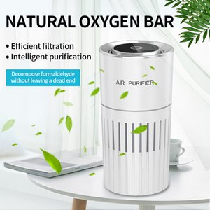 portable Wireless ionizer air purifier with uv light,personal uvc air sanitizer for car room Remove Formaldehyde Anion Purifier