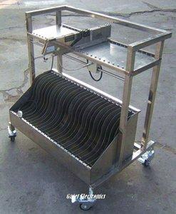 SMT Besleyici Depolama sepeti L800 * W600 * Siemens için H1000 seçin ve Yeri Makinesi Cf9w #