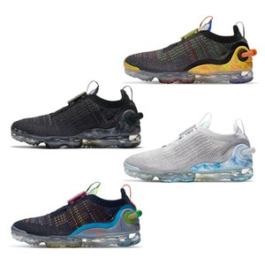 Nike Air VaporMax 2020 FK 2.0 Triple Black CNY ORCA pur Fly 1.0 Laufschuhe Platinum Diffused Taupe Jacke Pack Stylisten Schuhe Sneakers 36-45