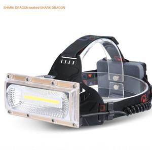 COB наводнения Фара USB зарядка открытый водонепроницаемый большой площади ING Searchlight работы головы наводнения сильный свет фар Прожектор