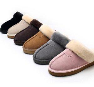 Vendita calda di design classico 51250 calde pantofole pelle di capra pelle di pecora neve stivali Martin Short stivali donne scarpe calde mantengono Free shipping
