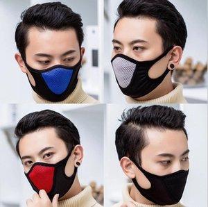Toz geçirmez Yüz Veil Kayak Snowboard Paten Windproof Maskesi Yeniden kullanılabilir Nefes facecloth Spor Mesh Ağız Kapak DHC1665 Maske Maskesi Cycling