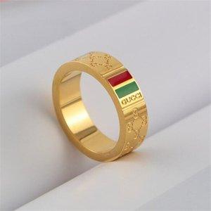 Популярный GUCCI кольцо любви цветок BAGUE anillos муассанит для мужских и женской помолвки годовщины свадьбы пары ювелирных изделий подарка любовника