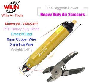 Wilin резки золота и серебра воздуха опрессовки 3мм медного провода Shear Зажим YM480 Heavy Duty клинка P7P Air Shear