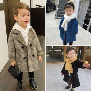 Baby Boys Jacket Kids Moda Fashion Casacos Quente Outono Inverno Inverno Roupas Crianças Jaqueta Infantil Outwears 2 3 4 6 8Y