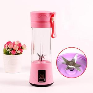 Elektro-Saft Mischbecher Professional 4 Klingen Mini Juicer bewegliche Multifunktions-USB-Lade Juice Cup Fruit