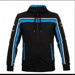 F1 Formula One гоночного мотоцикла костюм с длинными рукавами водолазка, команда формы команды случайной куртка, внедорожные мотоциклы молнии с капюшоном флиса SWE