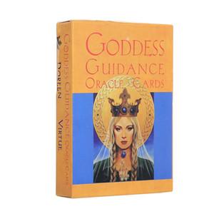 44 шт Oracle Карты Таро богиней руководство Настольные игры Карточные игры Колода Palying карты для партии игры