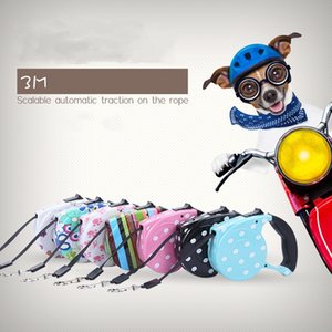 Hot sale 3M Retractable Dog Leashes lead Pets Cats Puppy Leash Lead Automatic Retractable Dog Collars Walking Lead for Small and Medium Pet