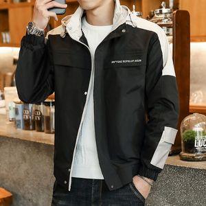 2020 yeni erkek ceket Beyzbol üniform tulum sonbahar Kore tarzı gündelik moda beyzbol üniforma büyük boy ceket erkek clothin overalls
