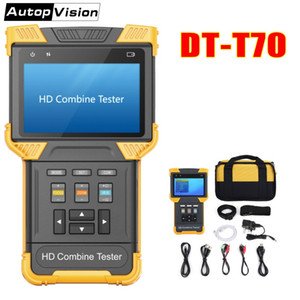DT-T70 H.264  H.265  4K IP Analog Camera Tester 4.0 Inch HD Combine Tester CCTV Monitor Support ONVIF TDR RJ45 Cable Test