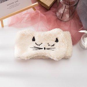 Corea lindo gato celebridad línea de ala ancha cara de lavado estilo de pasta de magia gancho de las mujeres del lazo del pelo banda de pelo Luna venda del sombrero BfdNm BfdN
