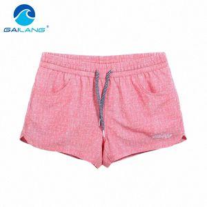 Gailang Marca de secado rápido de la Mujer Boardshorts de los cortocircuitos del traje de baño Trajes de baño mujer Polyster nuevos troncos informal Trunks uQtd #