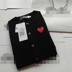 O novo jogo japonês bordado suéter suéter amor do coração olhos das mulheres tops e blusas de malha casais de estudantes