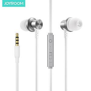 Cgjxsjoyroom In -Ear Earbud Wired Earphone Jr -El115 High Quality Stereo Headset With Mic 3 .5mm Audio Plug Headphone For Iphone Samsung