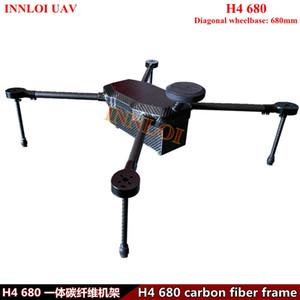 INNLOI UAV Bricolage H4 680mm Drone quad cadre en fibre de carbone multi copter rotor long vol Plate-forme Accessoires Pour commercial / industriel UAV