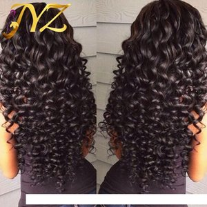 A Human Hair Wigs Lace Front Brazilian Malaysian Indian Curly Hair Full Lace Wig Remy Virgin Hair Lace Front Wigs For Black Women