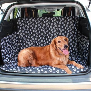 Pet Carrier Auto Trunk Mat Waterproof Anti-dirty Car Seat Cover Protector Pad Cat Dog Carrying Hammock Cushion Blanket