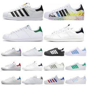2020 New Superstars Chaussures Casual stan Hommes Femmes Chaussures smith Triple Blanc Noir Vert 80 Super Star Fierté Sneakers Flat Taille 36-45