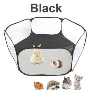 Recinto pet Box Small Animals traspirante pieghevole per il criceto cucciolo del gatto Guinea Pig portatile del gatto dell'animale domestico del cane gabbia Tenda Fence