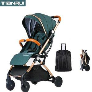 Kidlove Tianrui portable del bebé Cochecito sentarse o acostarse plegable mini bolsillo de compras con paraguas