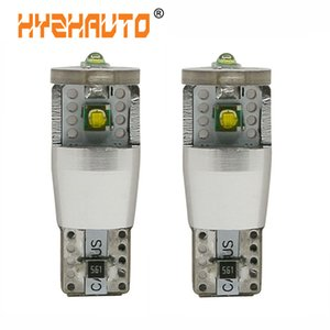 HYZHAUTO T10 W5W LED Canbus Car Lights XP-E LED Bulbs 12V Auto Wedge Lamp Clearance Light Super Bright White 500Lm 2Pcs lot