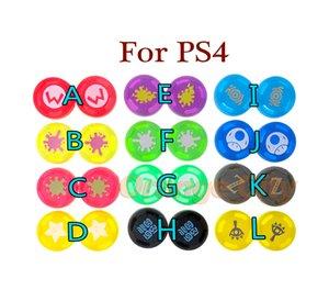 Cap borracha de silicone analógico Controlador Cap Silicone Case Thumb vara aperto Para PS4 PS3 XBOX360 Controlador