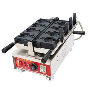 Ticari Elektrikli Taiyaki Waffle makinesi, balık şekli Taiyaki Makinesi, Yapışmaz Waffle Makinesi, No-Damla waffle makinesi