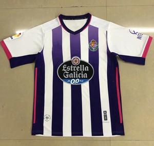 2020 2021 Jersey de football réel Valladolid 20- 21 Fede S. R. Alcaraz Sergi Guardiola Óscar Plano Camisetas de Fútbol Hommes Football Shirts