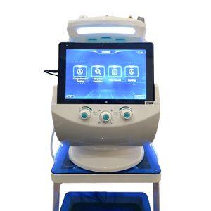 Facial Analyzer RF macchina di cura della pelle ad ultrasuoni 7 in 1 multifunzione Smart Ice Blue Skin Management System vuoto Bubble