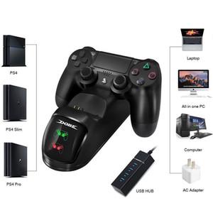 Jogo Charger Base do Controlador Dual USB Game Controller Charger Base / Magro / Desktop Pro Dedicado