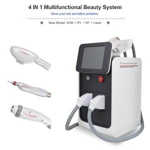 5 IN 1 Nd Laser Tattoo Removal Machine Elight OPT SHR Épilation Rajeunissement de la peau Laser Hair Tattoo Removal