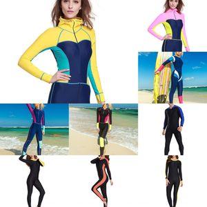 Nadar surf deportes al aire libre buceo con traje de buceo al aire libre juego de los deportes de adelgazamiento de una sola pieza de secado rápido asequible