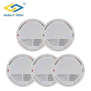5pcs lot Wireless Smoke Detector Fire Protection 433MHz High Sensitive Smoke Sensor Wifi Alarm for Home Office Security System