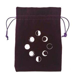 Velvet Bag Board Velvet Tarot Game Bag Jewelry Table Drawstring Cards Stoage Toy Bag 13x18cm Tarot Home Package Mini Tarot yxlJys xhhair
