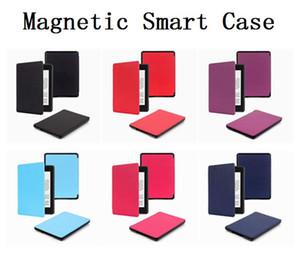 Magnetischer intelligenter Fall für Amazon Kindle New Paper 6-Zoll-Auto-Sleep / Wake Leichtgewichtler PU-Leder-Vollschutzhülle
