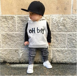 NEW Arrival Toddler Infant Girl Boy Clothes Fashion Hooded Tops+Pants Outfits Baby Set cool stylish August 9